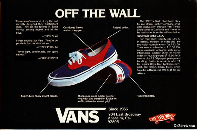 sepatu vans off the wall kw