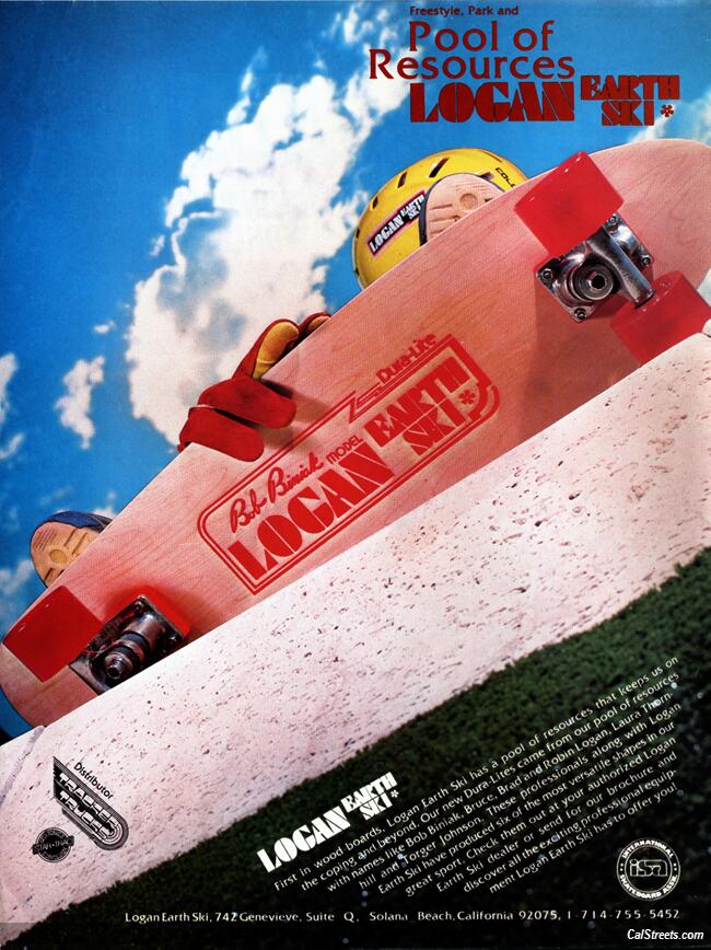 Image result for biniak logan skateboard magazine ad