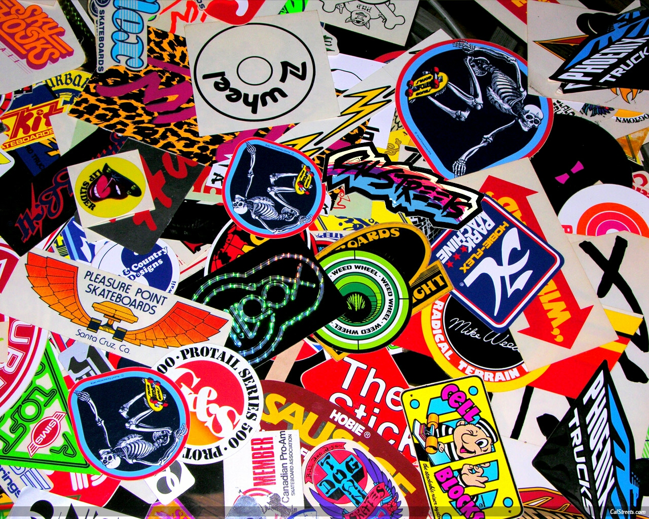 Can you name every sticker on this wallpaper very few have been able to