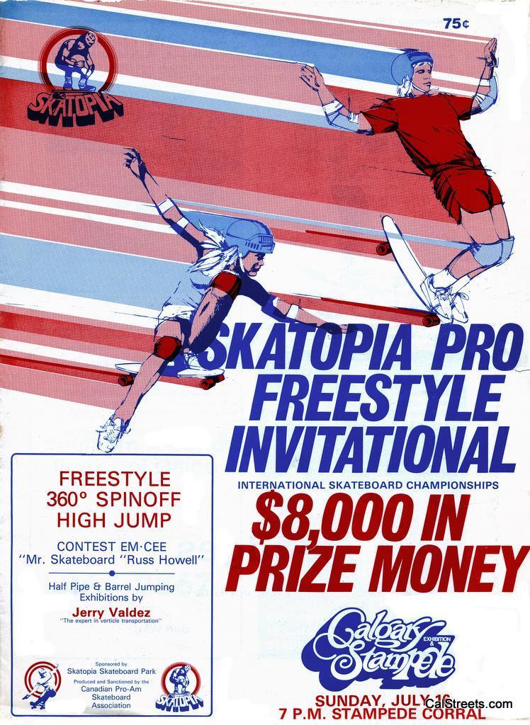 Skatopia Pro Freestyle Calgary 1