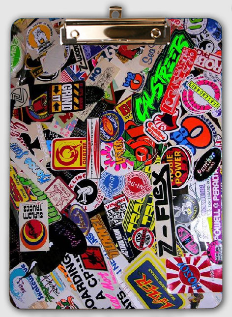 clipboard calstreets stickers
