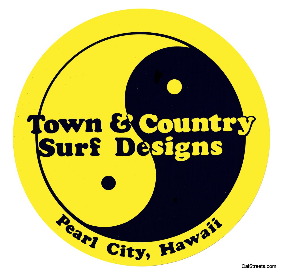 Town And Country Surf Designs Pearl City Hawaii Yingyang1