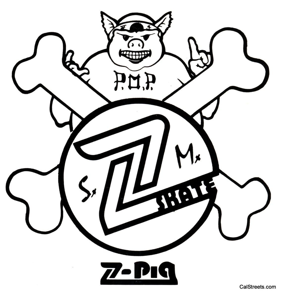 Z Pig Skateboard Z-Pig Skate SM2